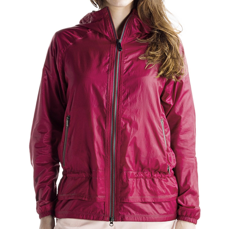 Lole Typhoon 2 Jacket (For Women) in Red Sea Tonal Plaid
