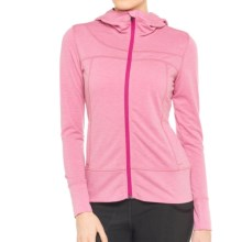 Lole Unite Hoodie Cardigan Sweater - Zip Front (For Women) in Dahlia Heather - Closeouts