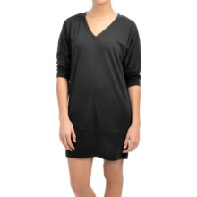 Lole Vera Dress - 3/4 Sleeve (For Women) in Black - Closeouts