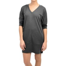 Lole Vera Dress - 3/4 Sleeve (For Women) in Dark Charcoal Heather - Closeouts
