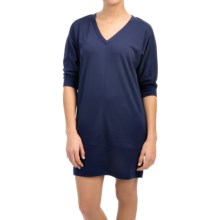 Lole Vera Dress - 3/4 Sleeve (For Women) in Mirtillo Blue - Closeouts