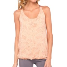 Lole Vervain Tank Top - Cowl Neck (For Women) in Mandarino Sparkling - Closeouts