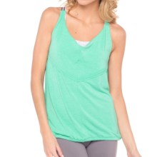 Lole Vervain Tank Top - Cowl Neck (For Women) in Turquoise - Closeouts