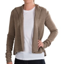 Lole Vijeta Cardigan Sweater - Silk-Cashmere (For Women) in Driftwood Heather - Closeouts
