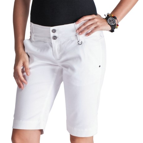 Lole Walk 2 Shorts - UPF 50+, Stretch (For Women) in White