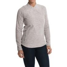 Lole Warm Shirt - Fleece, UPF 50+, Long Sleeve (For Women) in G398 Warm Grey Mix - Closeouts