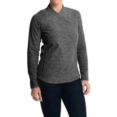 Lole Warm Shirt - Fleece, UPF 50+, Long Sleeve (For Women) in N272 Black Mix