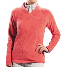 Lole Warm Shirt - Fleece, UPF 50+, Long Sleeve (For Women) in Tango Heather - Closeouts