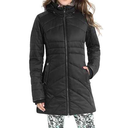 Lole Zoa Thermaglow Winter Jacket - Waterproof, Insulated (For Women) in Black - Closeouts