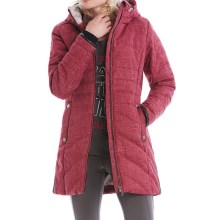 Lole Zoa Thermaglow Winter Jacket - Waterproof, Insulated (For Women) in Cabernet Alternative - Closeouts