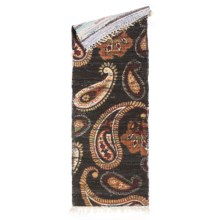 """Loloi Aria Flat-Weave Cotton Floor Runner - 1'9""""x5' in Chocolate/Rust - Closeouts"""