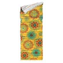 "Loloi Aria Flat-Weave Cotton Floor Runner - 1'9""x5' in Yellow/Orange - Closeouts"
