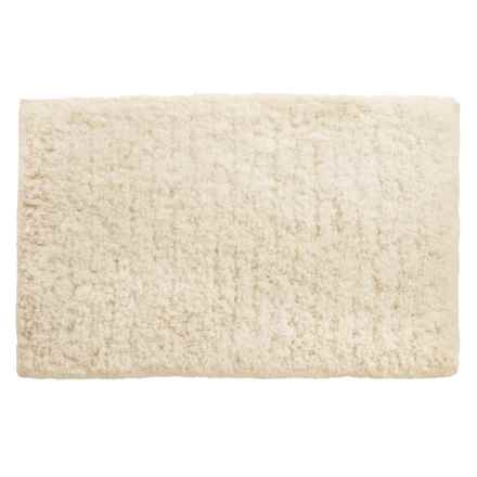 """Loloi Brunswick Collection Bath Rug - 21x34"""" in Ivory - Closeouts"""