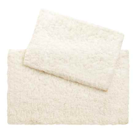 Loloi Brunswick Collection Bath Rug - Set of 2 in Ivory - Closeouts