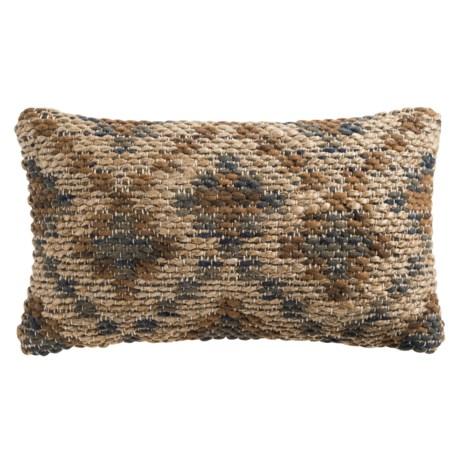 "Loloi Diamond Decor Pillow - 13x21"" in Brown Beige"