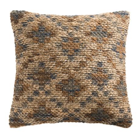 "Loloi Diamond Decor Pillow - 22x22"" in Brown Beige"