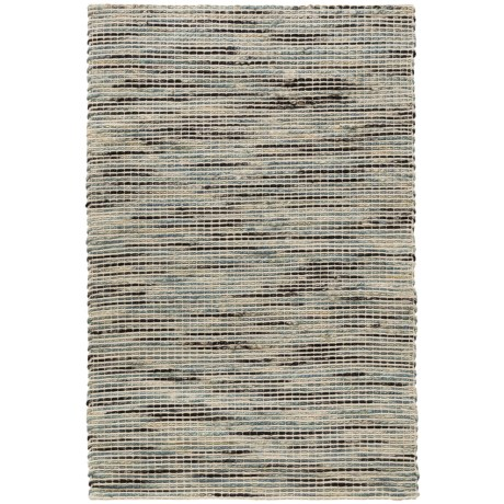 """Loloi Fushion Collection Navy Scatter Accent Rug - 3'6""""x5'6"""" in Navy"""