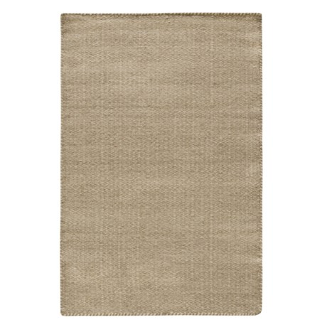 """Loloi Harper Collection Beige Scatter Accent Rug - 2'3""""x3'9"""", Wool in Beige"""