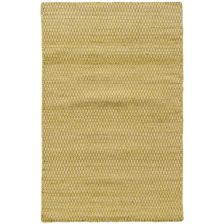 """Loloi Harper Collection Citron Scatter Accent Rug - 2'3""""x3'9"""", Wool in Citron"""