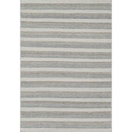 "Loloi Harper Collection Multi-Grey Area Rug - 5'x7'6"", Wool in Grey/Multi"