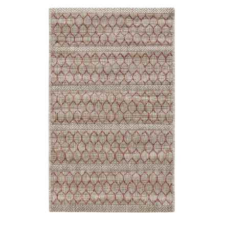 "Loloi Isle Collection Beige and Rust Scatter Accent Rug - 2'2""x3'9"" in Beige/Rust - Closeouts"