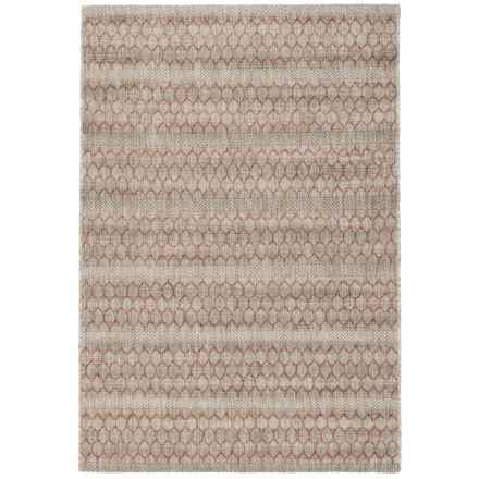"Loloi Isle Indoor-Outdoor Accent Rug - 3'11""x5'10"" in Beige/Rust - Closeouts"