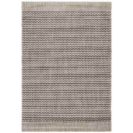 "Loloi Isle Indoor-Outdoor Accent Rug - 3'11""x5'10"" in Grey/Black - Closeouts"