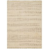 """Loloi Journey Collection Ivory and Mocha Area Rug - 5'x7'6"""", Wool-Viscose"""