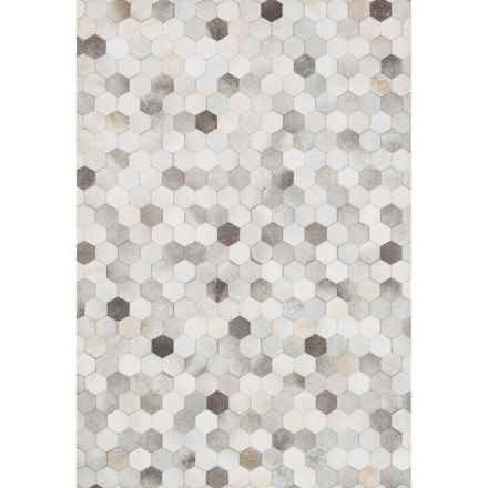 "Loloi Promenade Cowhide Area Rug - 7'6""x9'6"" in Grey - Closeouts"