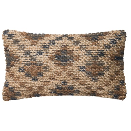 "Loloi Southwest Decor Pillow - 13x21"" in Brown / Beige"