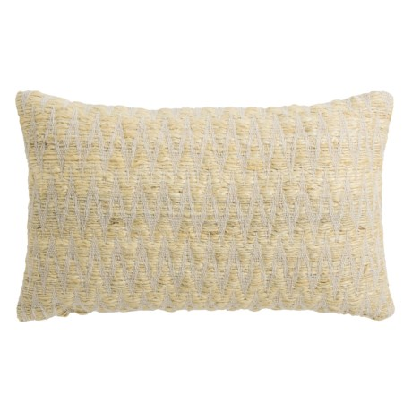 "Loloi Textured Decor Pillow - 13x21"" in Beige"