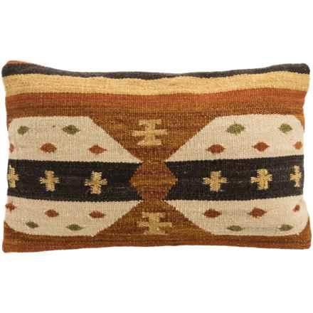 loloi tribal print decor pillow 13x21u201d in rustbeige closeouts