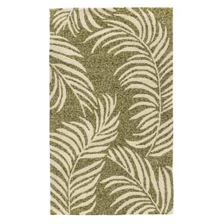 "Loloi Tropez Indoor-Outdoor Accent Rug - 2'3""x3'9"" in Sage/Ivory - Closeouts"
