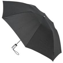 """London Fog Auto-Open Umbrella - 42"""" in Black - Closeouts"""