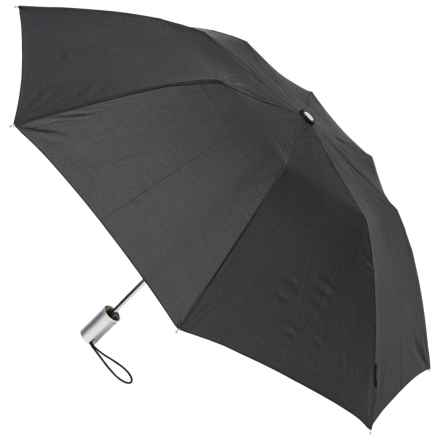 "London Fog Auto-Open Umbrella - 42"" in Black - Closeouts"