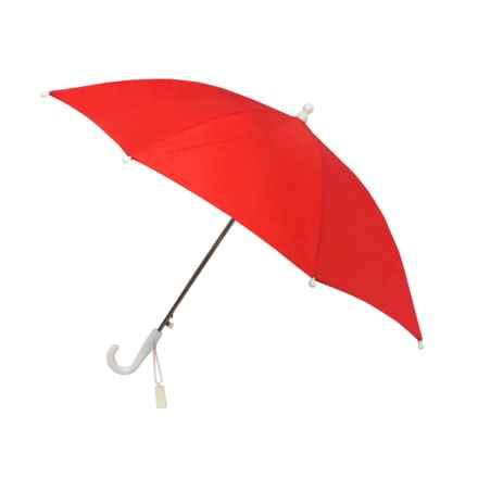 London Fog Auto Stick Umbrella (For Kids) in Firebrick - Closeouts