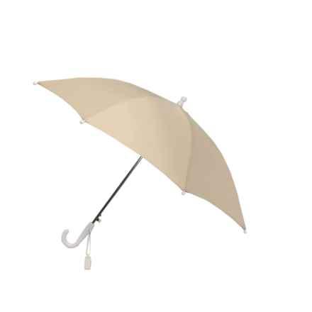 London Fog Auto Stick Umbrella (For Kids) in Light Khaki - Closeouts