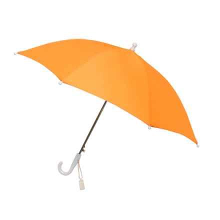 London Fog Auto Stick Umbrella (For Kids) in Orange - Closeouts