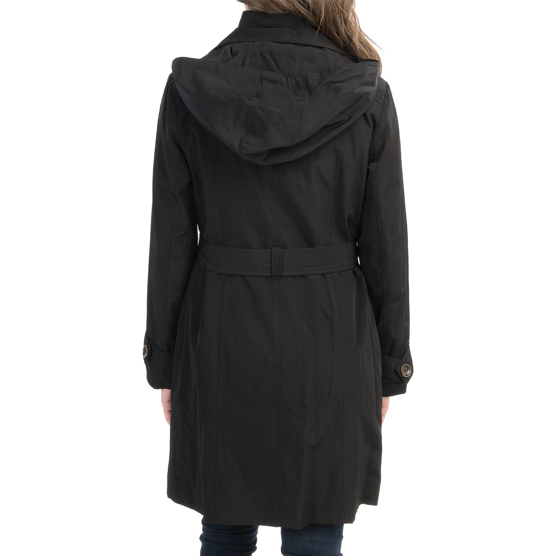 London fog trench coat women