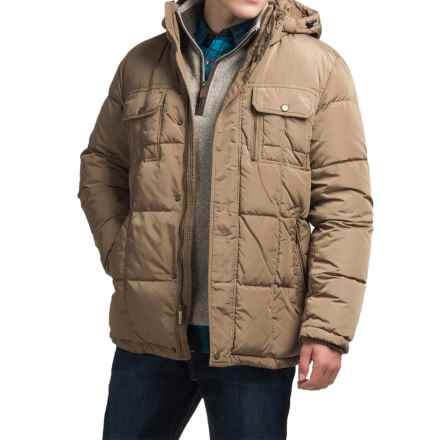 London Fog Bonanza Down Parka - Detachable Hood (For Men) in Khaki - Closeouts