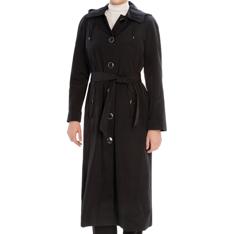 Collection Full-Length Coat - Suri Alpaca-Wool (For Women) in Espresso