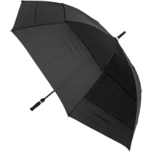 "London Fog Golf Auto-Open Umbrella - 61"" in Black - Closeouts"