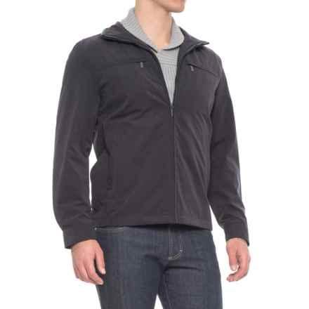 London Fog Litchfield Microfiber Jacket (For Men) in Navy - Overstock