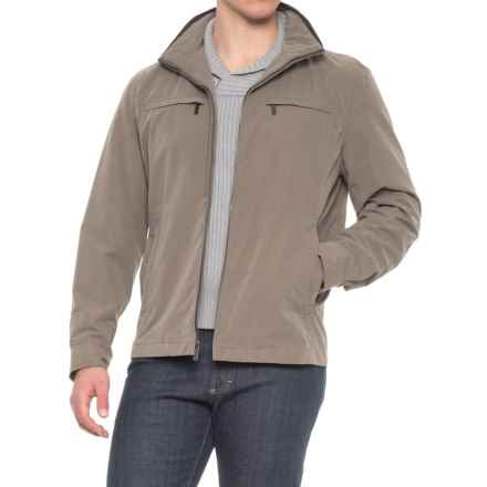 London Fog Litchfield Microfiber Jacket (For Men) in Olive - Overstock