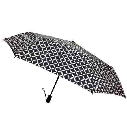 London Fog Mini Umbrella - Auto Open/Close in Link - Closeouts