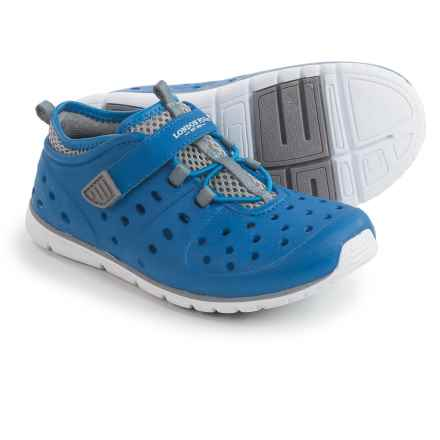 London Fog Mud Puppie Water Shoes (For Toddler Boys) in Blue/Grey - Closeouts