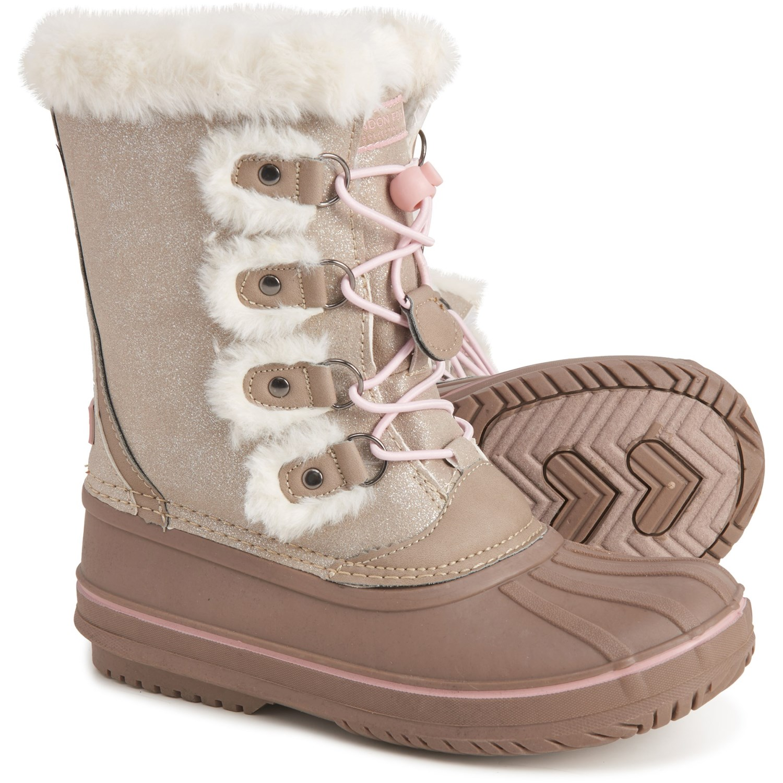 London Fog Shimmer Snow Boots (For