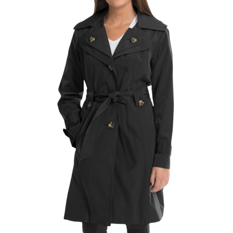 London Fog Trench Coat Removable Liner Vest (For Women)