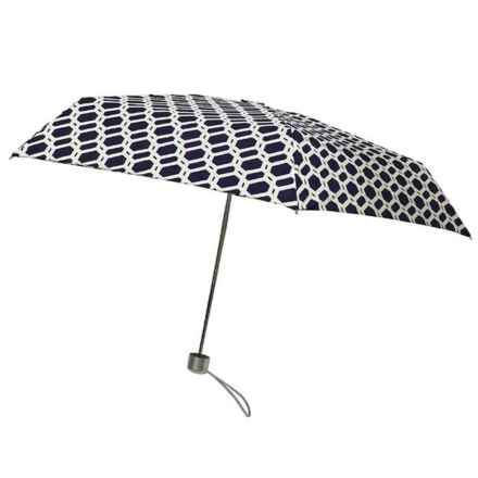 London Fog Ultra Mini Manual Umbrella in Chain - Closeouts