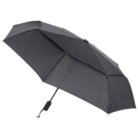 London Fog Vented Umbrella in Black - Closeouts